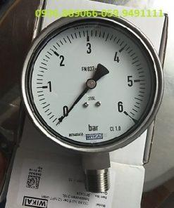 Wika dải 0-6 bar D100