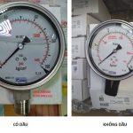 Tại sao nên chọn đồng hồ đo áp suất có dầu?