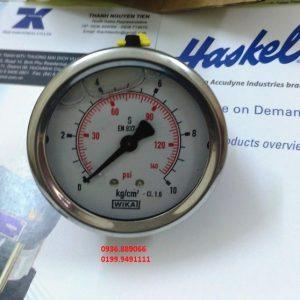 Đồng hồ đo áp lực Wika 0 - 10 kg/cm2