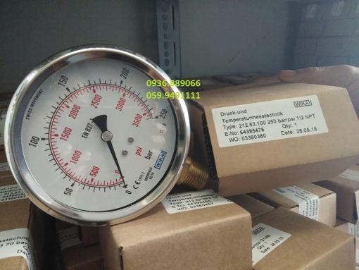 Đồng hồ đo áp suất Wika xịn