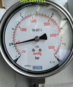 -1 - +7bar inox toàn bộ D100